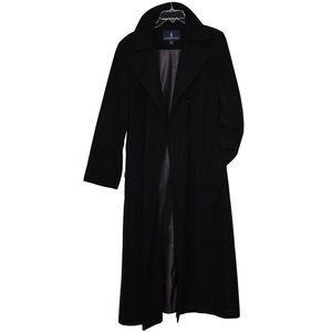 London Fog Long Trench Coat Women's Tall 8-R